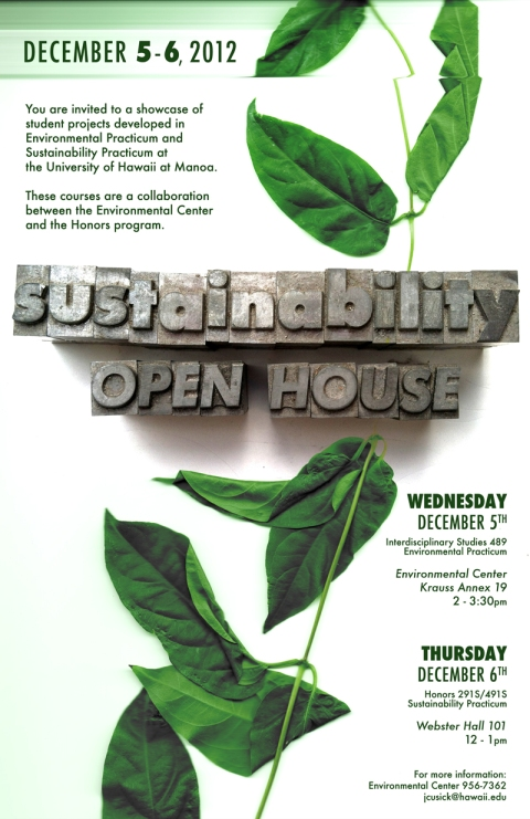 UH Manoa Sustainability Open House